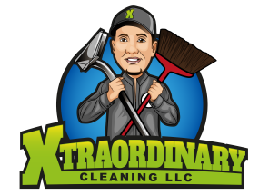 Xtraordinary cleaning llc logo