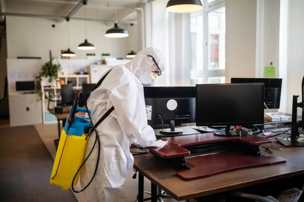 Commercial Office Disinfecting Services