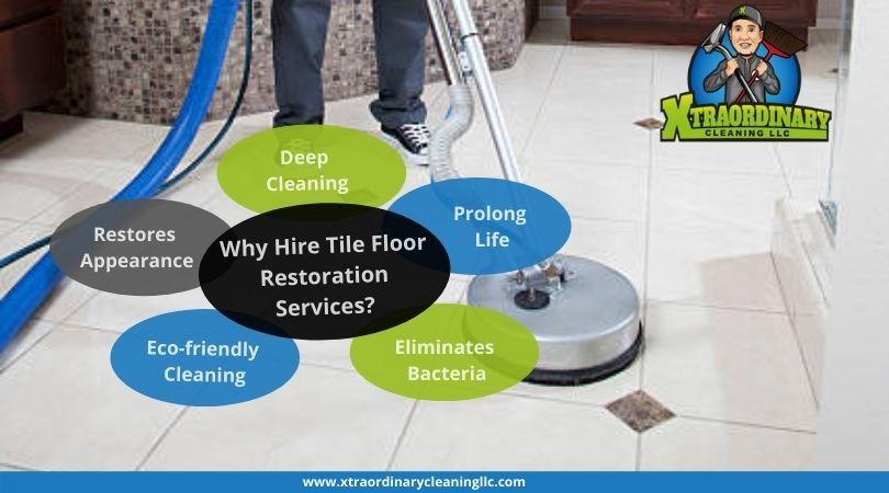 Why Hire Tile Floor Restoration Services?