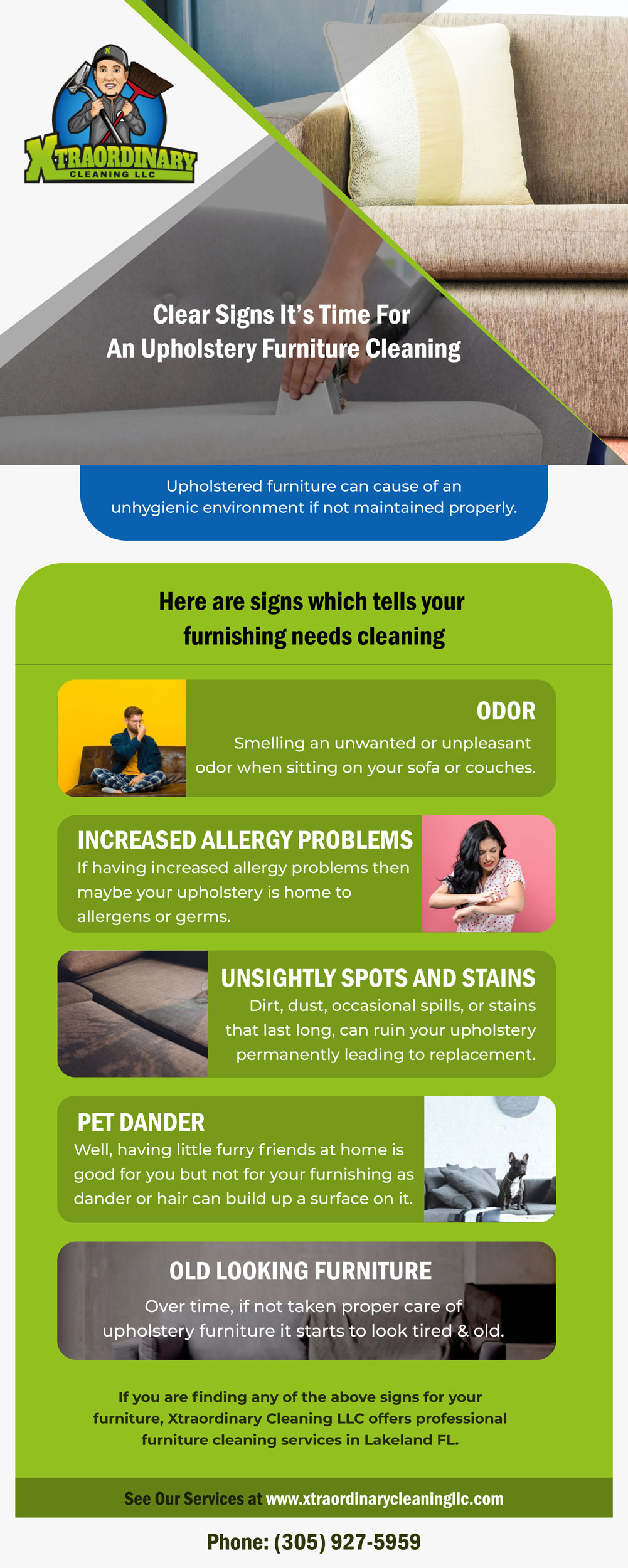 Clear Signs It's Time For An Upholstery Furniture Cleaning